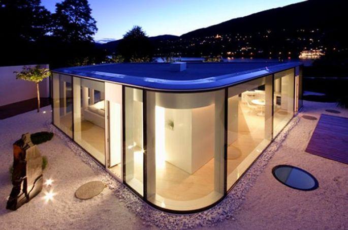 Швейцарский эко-дом с павильоном 1