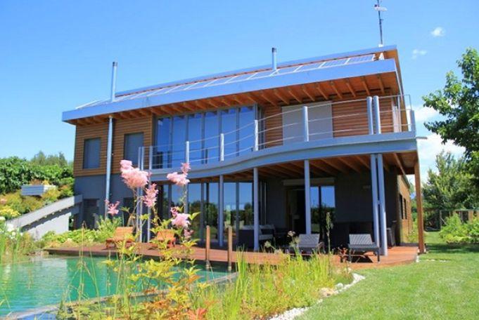 Итальянский биоклиматический дом альтернативной энергетики 1