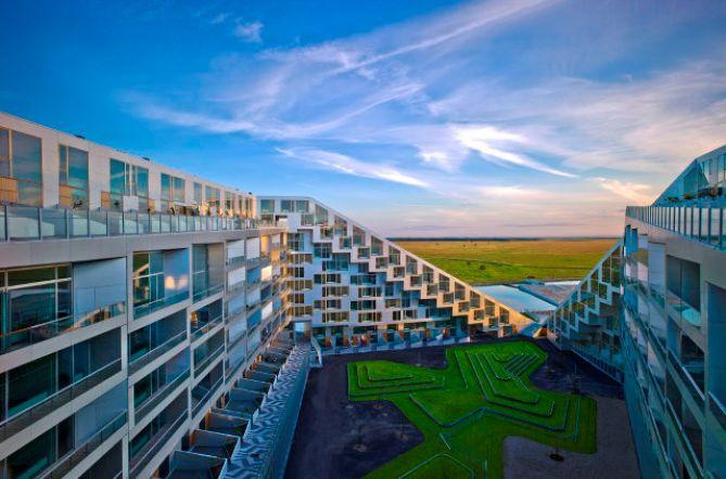 Экологичный жилой комплекс с велодорожкой 1