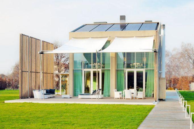 Возобновляемые материалы и источники энергии в итальянском доме 1