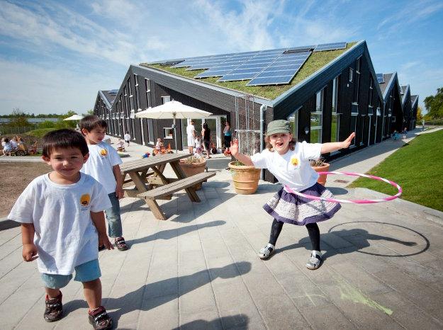 Самый экологичный детский сад в Дании 1