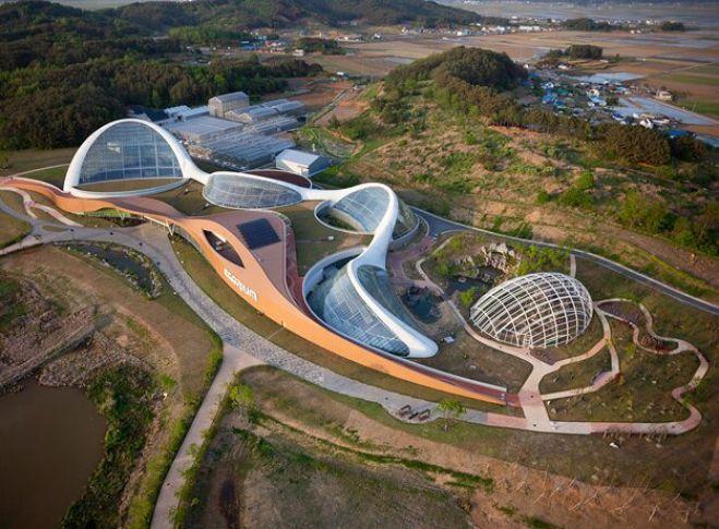 Ботанический зоосад в Южной Корее 1