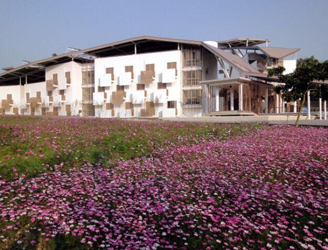 Тайваньское биоклиматическое общежитие 1