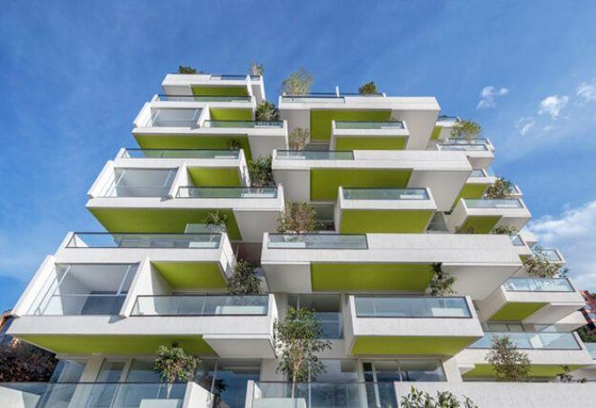 Жилой комплекс с вертикальным озеленением в Эквадоре 1